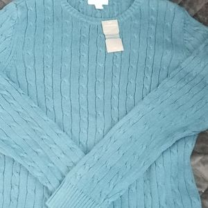 Charter club sweater size large